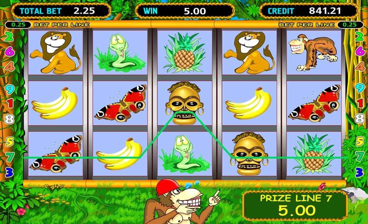 игровые автомат обезьян